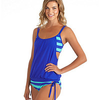 Next by Athena Lined Up Double Up Tankini Top