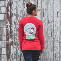 Classic Fit Scarlet Snow Globe Tee