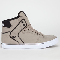 Supra Vaider Mens Shoes Cobblestone/Black/White  In Sizes