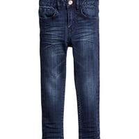 H&M - Skinny Fit Jeans - Denim blue - Kids