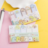 Sumikko Gurashi N Times Self-Adhesive Memo Pad Sticky Notes Post It Bookmark School Office Supply