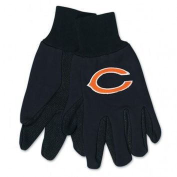 Chicago Bears - Adult Two-Tone Sport Utility Gloves