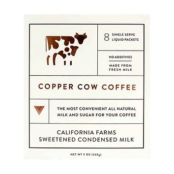 Copper Cow Coffee - Sweetened Condensed Milk Creamer, 8.4 oz.
