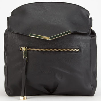 T-SHIRT & JEANS Metal Trim Backpack | Backpacks