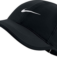 Nike Womens Featherlight Dri-Fit Hat Black/White