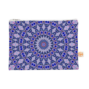 "Iris Lehnhardt ""Kaleidoscope Blue"" Circle Blue Everything Bag"