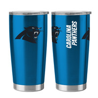 Carolina Panthers Travel Tumbler - 20 oz Ultra