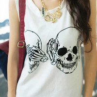 See/Hear/Speak No Evil Tank from ShopWunderlust