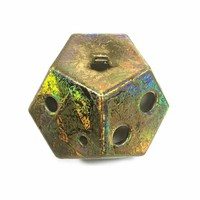 Dodecahedron Ocarina One of a Kind Fire Opal Alto in A