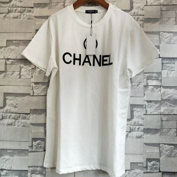 Chanel Women Crew neck T-shirt