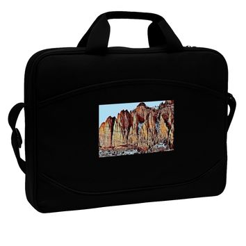 "Colorado Mountain Spires 15"" Dark Laptop / Tablet Case Bag by TooLoud"