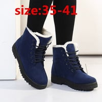 Women boots botas femininas 2015 new snow boots winter women fashion ankle boots for women shoes winter botines martin boots