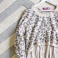 Wild Flurries Sweater