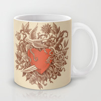 Heart of Thorns  Mug by Terry Fan