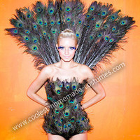Coolest Homemade Halloween Peacock Costume 32