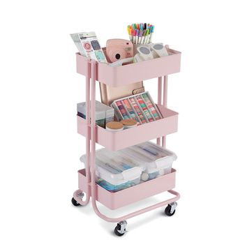 Lexington Blush 3-Tier Rolling Cart By Recollections™