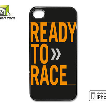 Ktm Ready To Race iPhone 4 Case Cover by Avallen