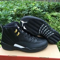 "Air Jordan 12 ""The Master"" AJ 12 Men Women Basketball Shoes"