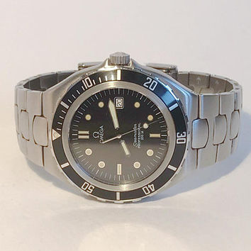 Omega Seamaster 200 Pre-Bond Men's Watch w/ Date Cal  90's