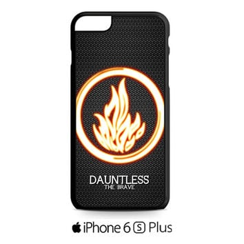 Divergent Dauntless The Brave iPhone 6S  Plus  Case