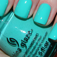 New! CHINA GLAZE~ ELECTROPOP COLLECTION ♥ AQUADELIC ♥ Nail Polish!
