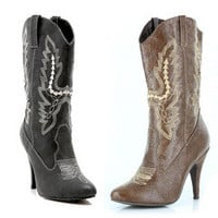 "Women's 4"" Heel Ankle Cowgirl Boot"