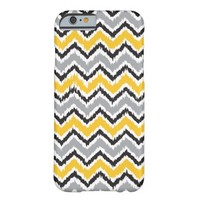 Rough Chevron Pattern Barely There iPhone 6 Case