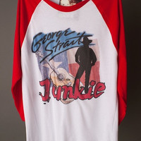 "Gina ""George Strait Junkie""  Picture Tee"