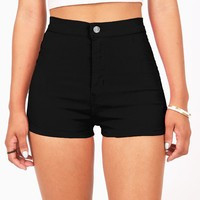 Voltage High Waist Shorts