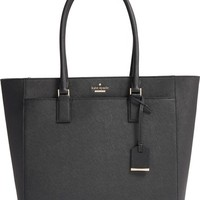 kate spade new york 'cameron street - havana' textured leather tote | Nordstrom