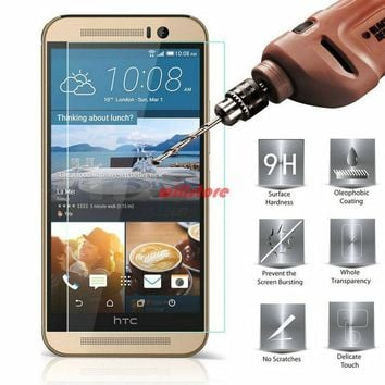 Tempered Glass Screen Protector guard film CASE For HTC Desire 320 326g 516 520 526 620 620g 820 mini 626 g 728 728g 816 826 825