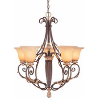 Volume Lighting Imperial 5 Light Chandelier