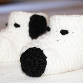 Beagle Puppy Baby Booties - 3 to 6 Months