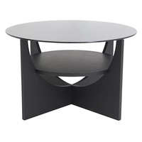 U Shaped Coffee Table Wenge