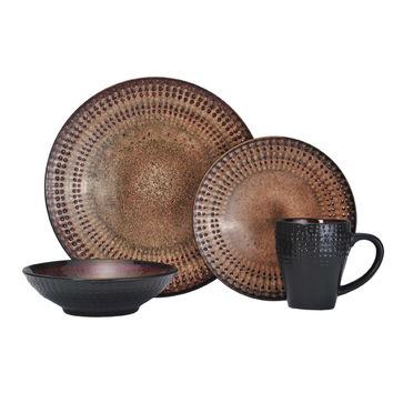 Pfaltzgraff Everyday Cambria 16-piece Dinnerware Set | Overstock.com Shopping - The Best Deals on Casual Dinnerware