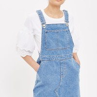MOTO Traditional Pinafore Dress | Topshop