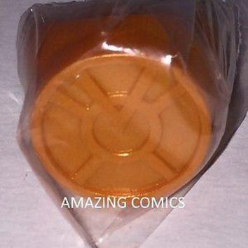 Green Lantern Blackest Night Plastic Ring - ORANGE LANTERN RING - AVARICE