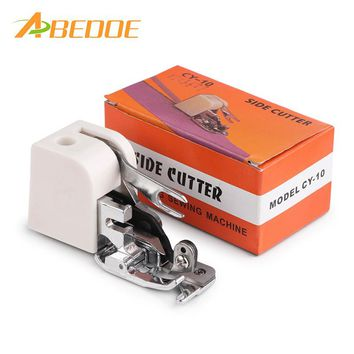 Side Cutter Overlock Presser Foot for Home Sewing Machines- Low Shank Singer Janome Brother