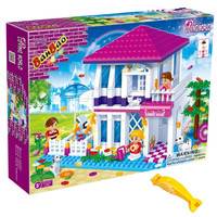 Banbao 6105 Summer House Set 425pcs (Compatible with Legos) with Brick Remover
