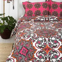 Magical Thinking Azo Medallion Duvet Cover- Pink Twin Xl