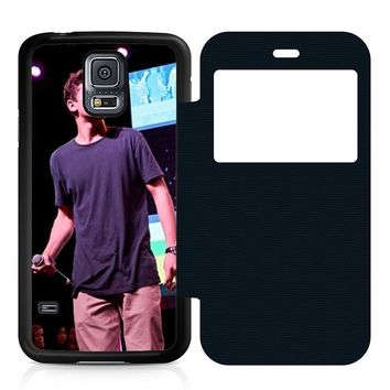 Jack Gilinsky Perform Leather Wallet Flip Case Samsung Galaxy S5