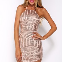 Trap Doors Dress Bronze