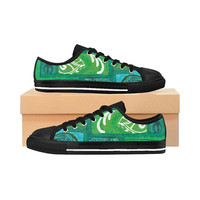 Straight Out Of Samoa Greentapa WomenS Sneakers