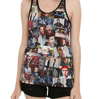 Supernatural The Road So Far Sublimation Girls Tank Top