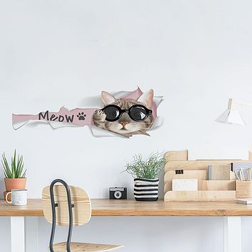 Decorative Wall Stickers - Animal Wall Stickers Animals Living Room / Bedroom / Kitchen