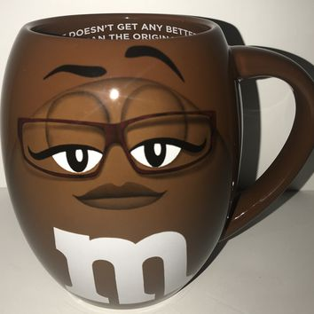 M&M's World Brown Barrel It Doesn't Get Any Better Than the Original Mug New