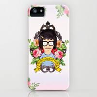 Tina - Everything's ok face  iPhone & iPod Case by Sara Eshak