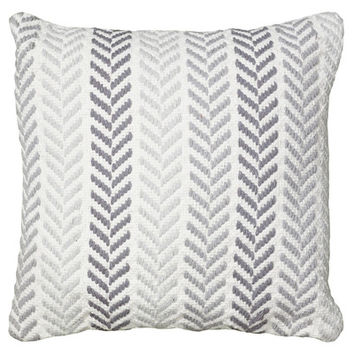 Mercury Row Chevron Cotton Throw Pillow & Reviews | Wayfair