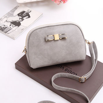 Korean Summer Vintage One Shoulder Matte Fashion Mini Bags Messenger Bags [6582897735]