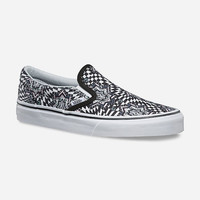 VANS Checker Kaleidoscope Classic Slip-On Womens Shoes | Sneakers